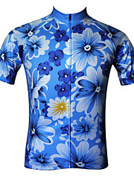 JESOCYCLING Cycling Jersey Women's Short Sleeves Bike Jersey Tops Quick Dry Ultraviolet Resistant Antistatic Breathable Lightweight