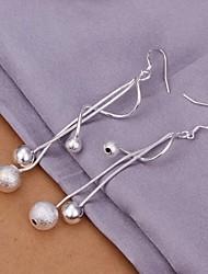 Orecchino Per donna Orecchini pendenti Silver Plated Senza pietre
