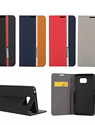economico -Custodia Per Samsung Galaxy Samsung Galaxy Note Porta-carte di credito / Con supporto / Con chiusura magnetica Integrale Con onde pelle sintetica per Note 5 / Note 4 / Note 3
