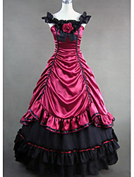 cheap -Gothic Lolita Dress Victorian Satin Women's One Piece Dress Cosplay Sleeveless