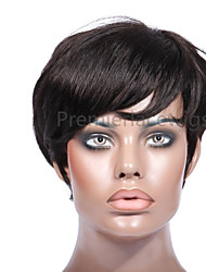 2016 Hot Kris Style Pixes Short Wigs 6-8Inches 8A Brazilian Virgin Human Hair Full Lace Front Wigs