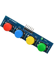 cheap -4-Key Button Module Sensor External Keyboard Module for Arduino+Raspberry Pi- Blue
