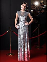 ts Couture® robe de bal de soirée gaine / colonne bijou parole longueur pailleté avec cristal détaillant