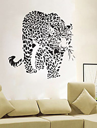 cheap -4093 Hot Sale Modern Design Removable Walking Tiger Wall Sticker Wallpaper Mural DIY Art Living Room Home Decals
