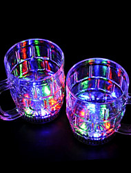 Colorful LED Flash Beer Glass (2 PCS / 380ml)