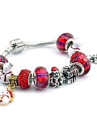 Bracelet/Charm Bracelets / Vintage Bracelets Alloy Party / Daily / Casual Jewelry Gift Red,1pc