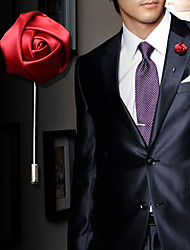 Men's Fashion Party Long Rose Brooch