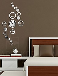 cheap -Mirror Circle Removable Decal Vinyl Art Wall Sticker Home Decor Clock Dial