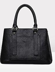abordables -Mujer PU Formal / Casual / Oficina y Trabajo / De Compras Bolso de Hombro / Tote / Portafolios Azul / Rojo / Gris / Negro