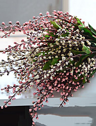 1pc/set Fruit Flowers Silk Artificial Flowers for Home Decoration Flower Kit (Random Color)