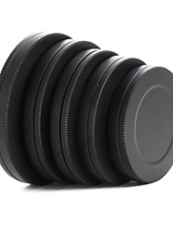 Metal Lens Filter Front Rear Cap Protective Portable Box 37/40.5/43/46/49mm