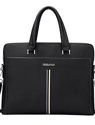Men PU Doctor Shoulder Bag / Tote / Satchel - Blue / Black