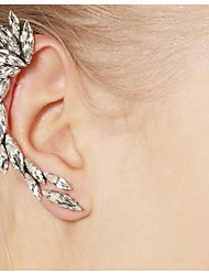 cheap -Women's Ear Cuff / Ear Climbers - Rhinestone Fashion Silver For Daily