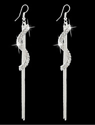 cheap -Women's Rhinestone - Gothic Silver Golden Earrings For Daily Casual