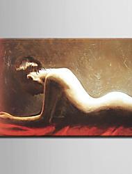 tela di pittura ad olio astratta dipinta a mano tela con telaio allungato