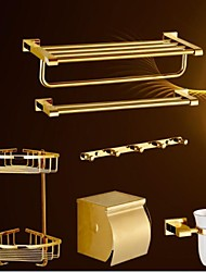 Set di accessori per il bagno / Ti-PVD Contemporaneo