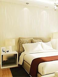 baratos -Geométrica Decoração para casa Moderna Revestimento de paredes, Papel não tecido Material adesivo necessário Cobertura para Paredes de