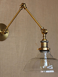 The IKEA LOFT Style Designer Lamp Modern Glass Bronze Cafe IKEA Decorative Wall Lamp