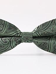 economico -party da uomo / da sera paisley verde da cerimonia un papillon a farfalla formale