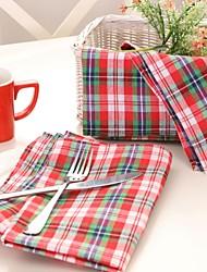 economico -100% cotone napkinhotel tavolo da pranzo / decorazione festa di matrimonio / matrimonio banchetto cena / decor favore /