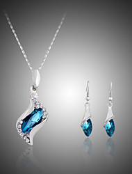cheap -Women's Jewelry Set Crystal Cute Party Fashion Cute Style Party Special Occasion Anniversary Birthday Engagement Gift Gemstone & Crystal
