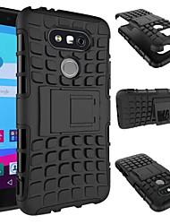 economico -Custodia Per LG Custodia LG Resistente agli urti / Con supporto Per retro Armatura Resistente PC per