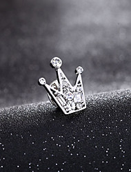 Fashion Vintage Small Crown Brooch