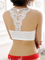 Women's Sexy Halter White Bottoming Vest