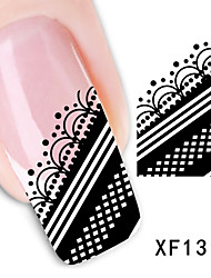 20sheets  Mixed  Beautiful Lace Nail Art DIY Water Transfer Sticker STZ Lace20