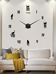 cheap -Hot Sell New Modern Design High Quality Silent 3D DIY Wall Clock 12S020