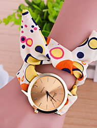 cheap -Women's Quartz Bracelet Watch Casual Watch Fabric Band Charm Fashion Multi-Colored