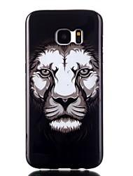 billiga -fodral Till Samsung Galaxy Samsung Galaxy S7 Edge Mönster Skal Djur TPU för S7 edge / S7