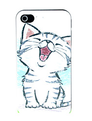 The Little Cat Pattern Hard Case for iPhone 4/4S