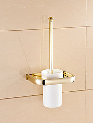 cheap -Toilet Brush Holder Neoclassical Brass 1 pc - Hotel bath