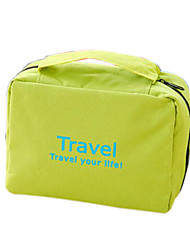 Travel Toiletry Bag Cosmetic Bag Cosmetic & Makeup Bag Hanging Toiletry Bag Waterproof Portable Foldable Hanging Multi-function Travel
