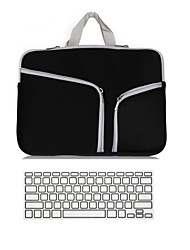 "cheap -Handbag for Macbook Air 11"" MacBook Pro 13""/15"" with Retina display Solid Color Textile Material Notebook Sleeve bag with Keyboard Cover"