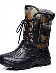 cheap -New Men's Outdoor Waterproof Snow Boots Fishing Shoes Hunting Shoes