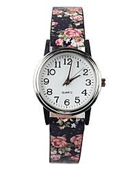 baratos -Mulheres Relógio de Pulso Venda imperdível PU Banda Amuleto / Fashion Preta / Azul