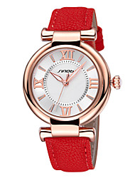 cheap -Women's Wrist Watch Water Resistant / Water Proof Alloy Band Charm / Fashion White / Red / Orange