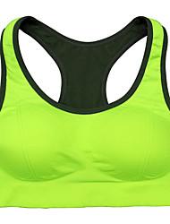 Per donna Reggiseni sportivi Asciugatura rapida Traspirante Strisce riflettenti Comodo Resistente agli urti Reggiseni sportivi