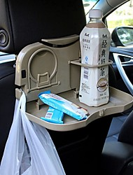ziqiao автомобиля складная спинка сиденья подголовник многофункциональный путешествия обеденный поднос напитков Держатель / телефона