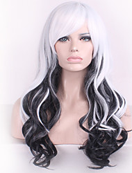 cheap -Japanese Original SuFeng Super of Lolita lolita Wig Mixed Color Black and White Spot Wholesale Cosplay Wigs
