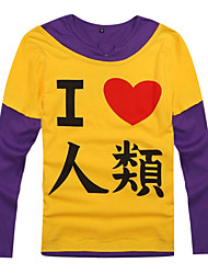 cheap -Inspired by No Game No Life Cosplay Anime Cosplay Costumes Cosplay Hoodies Print Long Sleeves Coat For Men's Women's