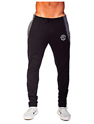 cheap -Men's Running Pants - Dark Blue, Gray, 1# Sports Solid Colored Pants / Trousers / Bottoms Exercise & Fitness, Leisure Sports, Running Activewear Breathable, Sweat-wicking