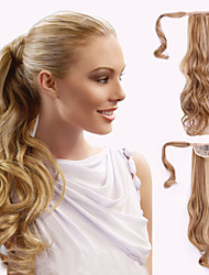 cheap -top grade quality synthetic wavy ponytail
