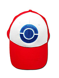 cheap -Hat/Cap Inspired by Pocket Monster Ash Ketchum Anime/ Video Games Cosplay Accessories Cap / Hat White / Red Terylene Male