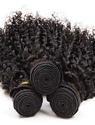 abordables -Cheveux Brésiliens Bouclé / Tissage bouclé Cheveux humains Tissages de cheveux humains Tissages de cheveux humains Extensions de cheveux humains