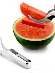 cheap -Stainless Steel Watermelon Cutter Slicer Knife Corer Kitchen Tool Accessories Cutting Fruit Vegetable Tools