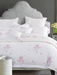 Leaf Cotton 4 Piece Duvet Cover Sets