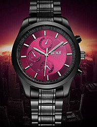 cheap -Men's Dress Watch Water Resistant / Water Proof Stainless Steel Band Black